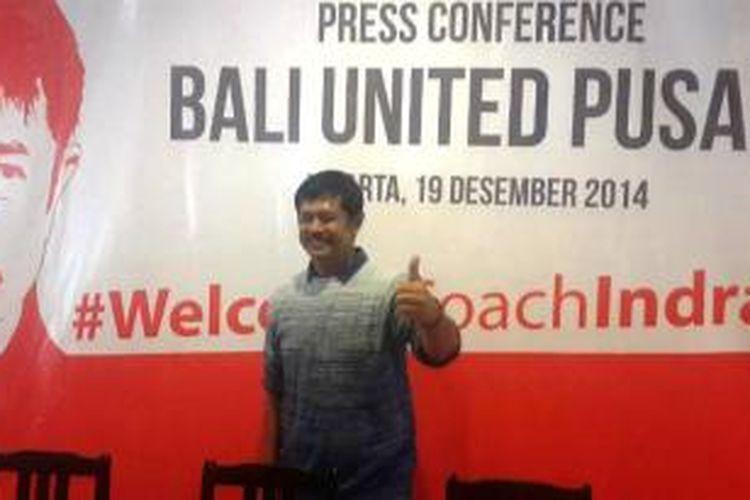 Pelatih Bali United Pusam, Indra Sjafri.
