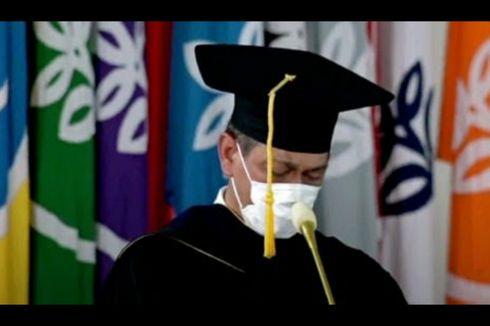 Doni Monardo Menangis Usai Terima Gelar Doktor Honoris Causa IPB
