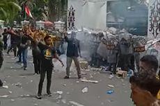Aksi Tolak Omnibus Law di Palangkaraya Diwarnai Bentrok, 5 Orang Terluka
