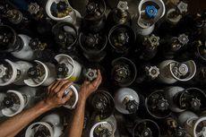 Permintaan Tabung Oksigen Melonjak Seiring Meningkatnya Kasus Covid-19 di Cianjur