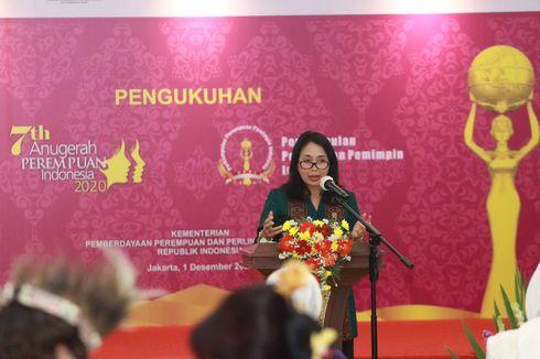 Menteri PPPA Pastikan Perempuan Penyintas Bencana Dapat Dukungan Pemberdayaan Ekonomi