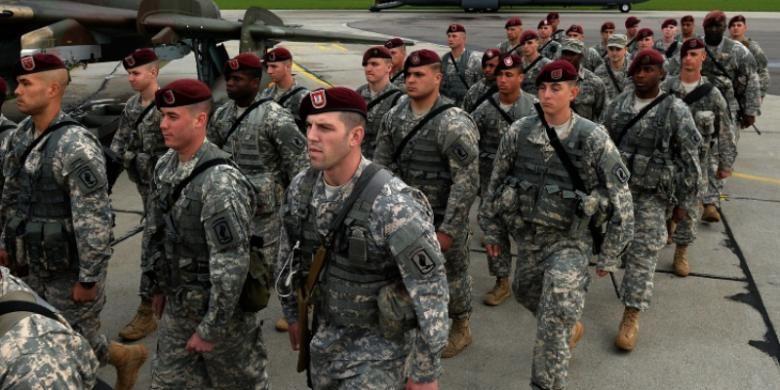 Sebanyak 150 orang tentara AS tiba di Polandia, Rabu (23/4/2014), untuk membeuktikan komitmen AS pada negara-negara sekutunya di Eropa Timur terkait krisis di Ukraina.