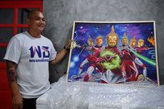 Lukisan Buddha dengan Tubuh