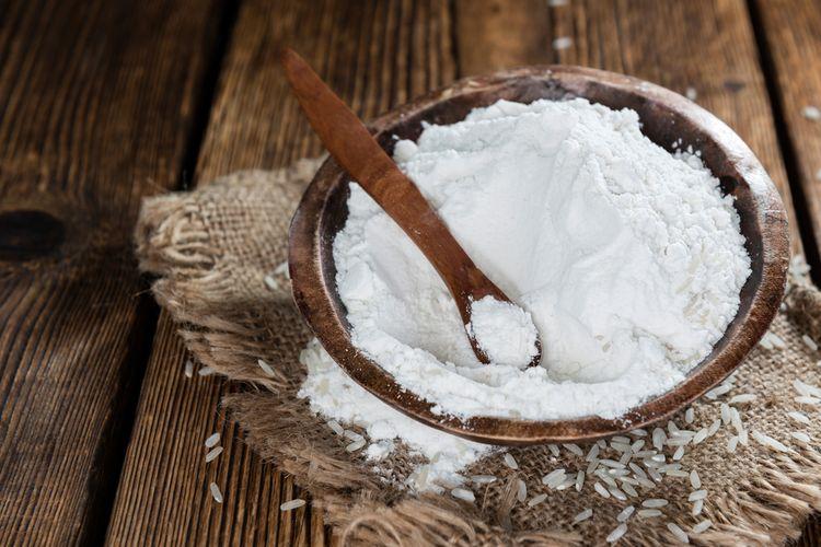 Ilustrasi tepung beras.