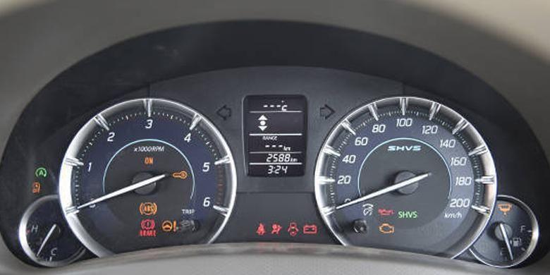 Indikator speedometer Ertiga SHVS