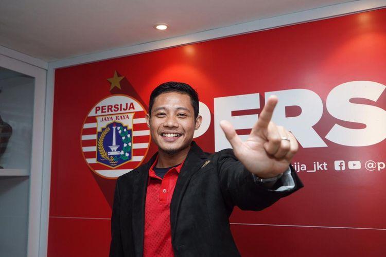 Evan Dimas resmi bergabung dengan Persija Jakarta, Sabtu (11/1/2020). Evan Dimas akan menjadi tambahan amunisi baru bagi Persija untuk Liga 1 musim 2020.