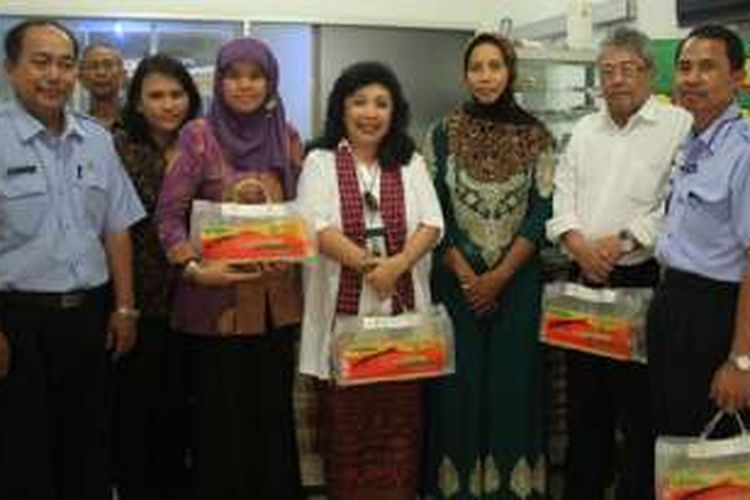 Tim BSN dan MASTAN DPW Jawa Tengah mengunjungi tempat produksi yang bernama  UD Mina Makmur (Rabu 18/3/2015).
