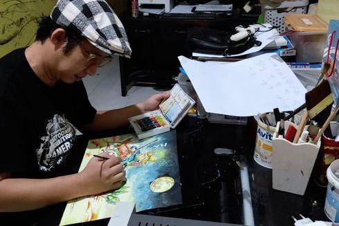 Berkat Komik Hasil Jual Empek-empek, Edi Dharma Bisa Jadi Juara Dunia