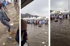 Penjelasan Kementerian Agama Terkait Viral Video Banjir di Mina Saat Ibadah Haji