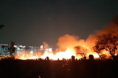 Listrik Padam dan Angin Berhembus Kencang di Lokasi Kebakaran di Kamal
