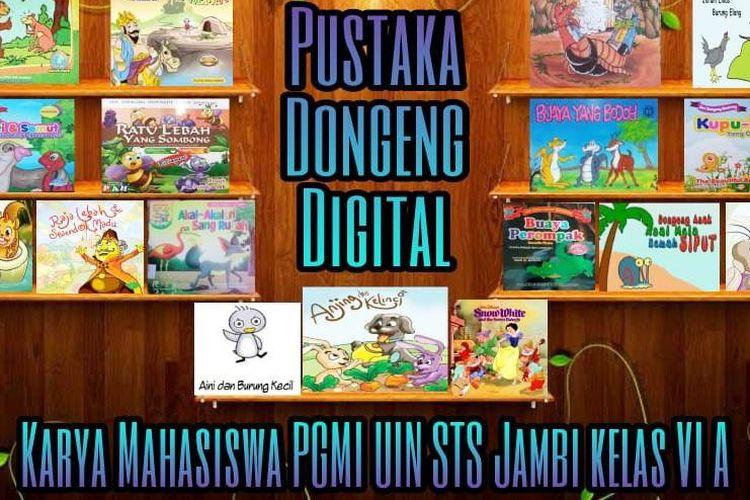 Pustaka Dongeng Digital karya mahasiswa UIN STS Jambi.