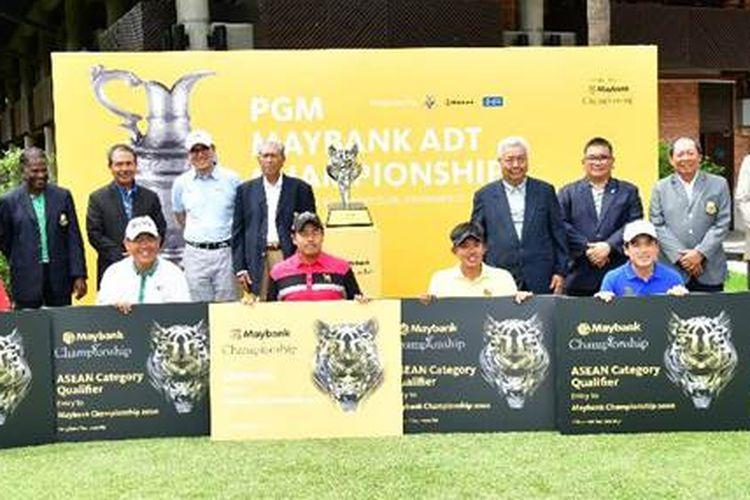 Para pemenang dari ASEAN, termasuk George Gandranata dari Indonesia, berpose seusai event PGM Maybank ADT Championship, 30 November 2019, di Kuala Lumpur, Malaysia.