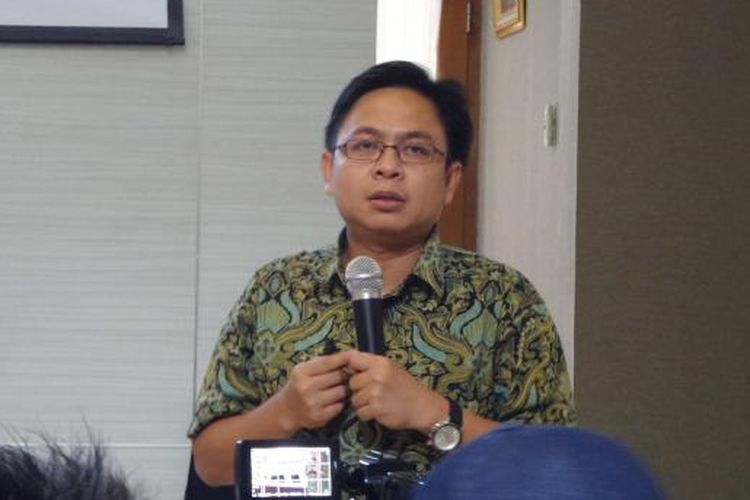 Direktur Eksekutif Indikator Politik Indonesia, Burhanuddin Muhtadi.