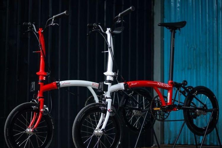Sepeda Kreuz pesanan Presiden Joko Widodo dan Iriana Jokowi.