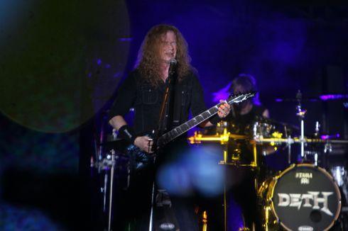 Dave Mustaine Umumkan Sembuh dari Kanker di Konser Megadeth