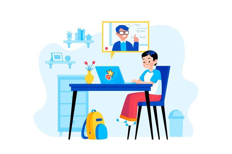 Ilustrasi dampak komputer bagi pendidikan