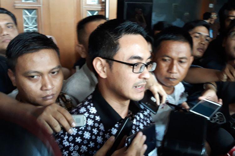 Gubernur nonaktf Jambi Zumi Zola di Pengadilan Tipikor Jakarta, Kamis (6/12/2018).
