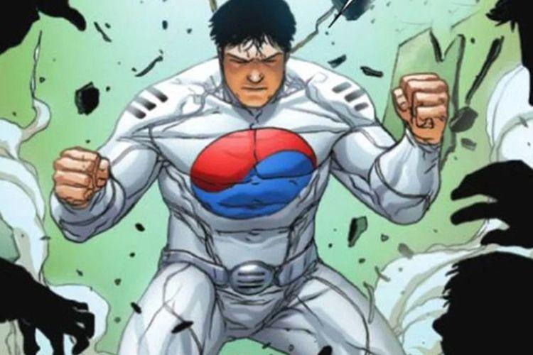 Taegukgi, superhero Marvel dari Korea Selatan