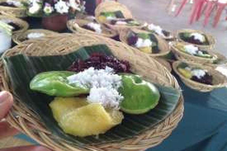 Jaje Bali, jajanan pasar ala Bali.