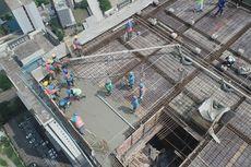 Terjual 85 Persen, Konstruksi Pacific Garden Tembus Tutup Atap