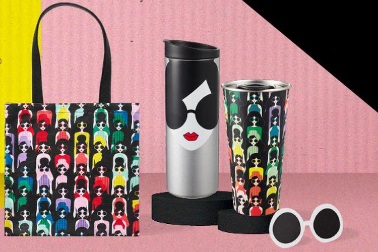 Koleksi Merchandise Kolaborasi Starbucks® X alice + olivia