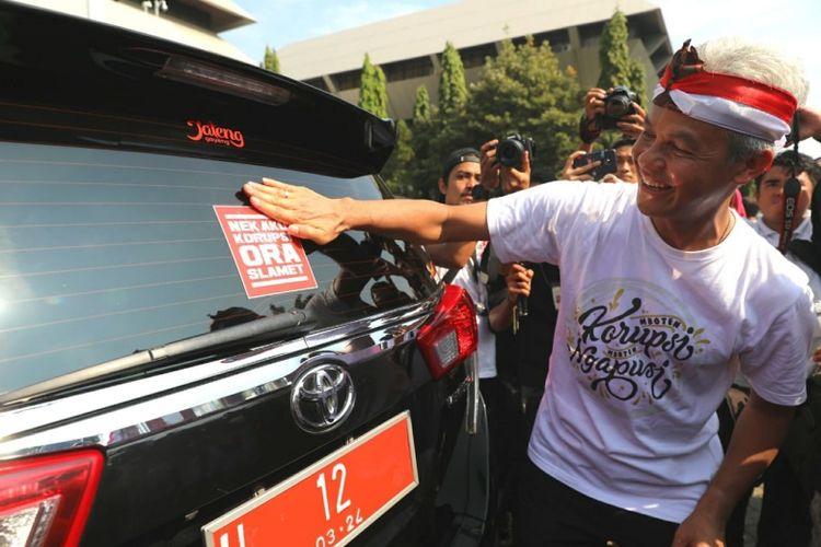 Ganjar Pranowo Undang 3.000 Pelajar untuk Demo Antikorupsi