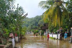 Luweng Tersumbat, Puluhan Rumah di Wonogiri Terendam Banjir