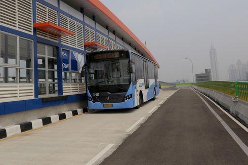 Akhir Tahun, Semua Fasilitas di Halte Transjakarta Koridor 13 Selesai