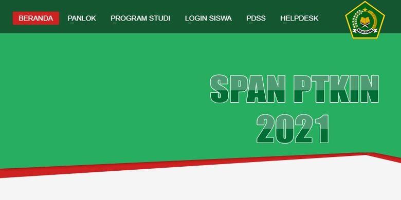 Calon Mahasiswa Ini Syarat Cara Daftar Dan Jadwal Span Ptkin 2021 Halaman All Kompas Com