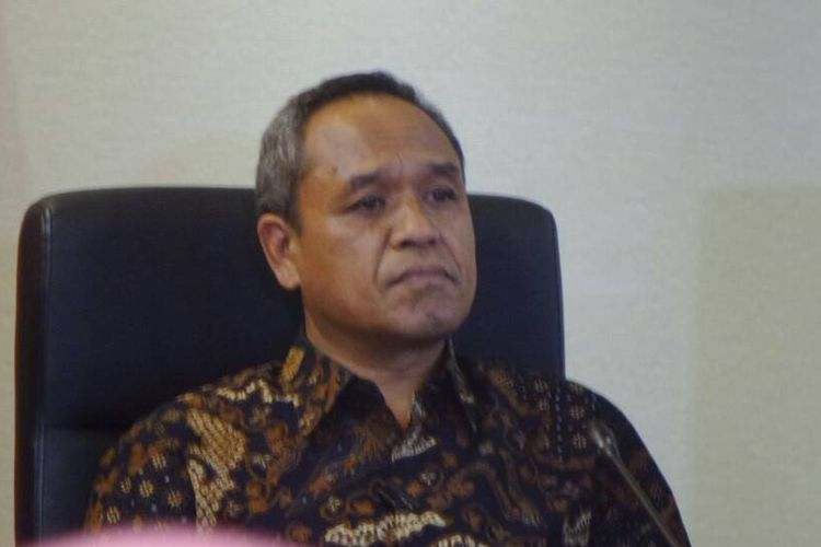 Wakil Ketua Komisi III dari Fraksi Partai Demokrat, Benny K Harman di Kompleks Parlemen, Senayan, Jakarta, Kamis (27/4/2017).