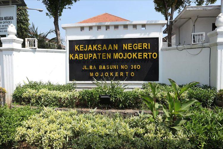 Kantor Kejaksan Negeri (Kejari) Kabupaten Mojokerto Jawa Timur.