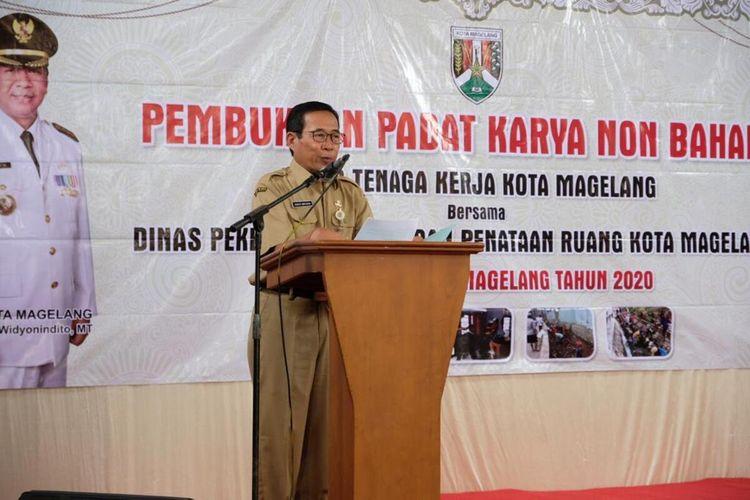 Kepala Dinas Tenaga Kerja (Disnaker) Kota Magelang Gunadi Wirawan.