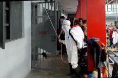 Antisipasi Virus Corona, Rutan Kelas II Palu Disemprot Disinfektan