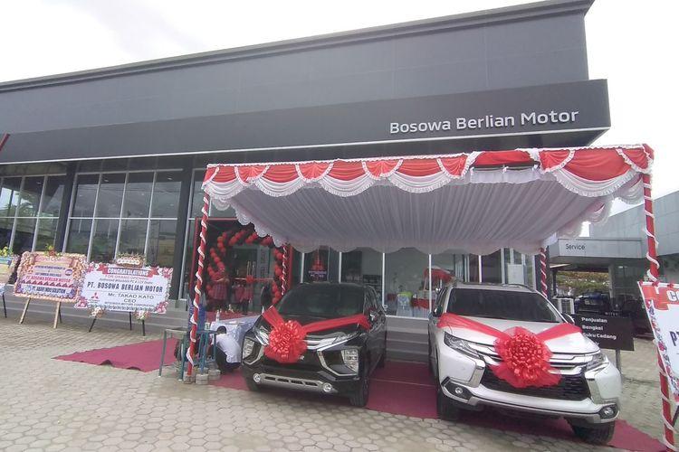 Ilustrasi diler Mitsubishi di Jayapura, Papua.