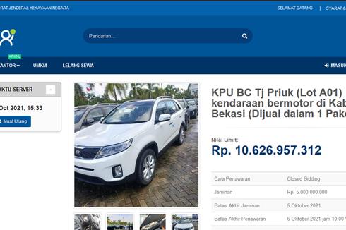 Bea Cukai Cuci Gudang Besar-besaran, 167 Mobil Dilelang secara Online