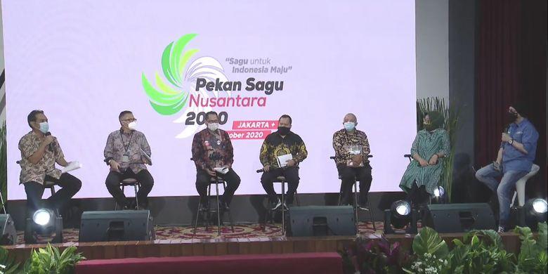 talkshow di Pekan Sagu Nusantara
