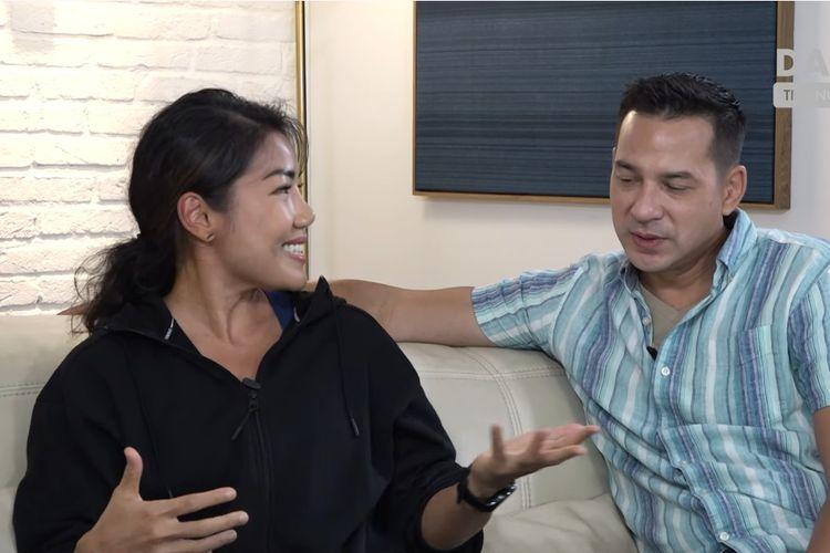 Pasangan Inge Anugrah dan Ari Wibowo
