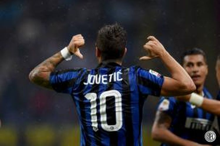 Striker Inter Milan, Stevan Jovetic.