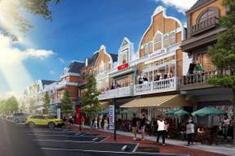 Proyek terbaru Paramount di kawasan barat Gading Serpong adalah produk komersial rumah dan toko (ruko) dua lantai.