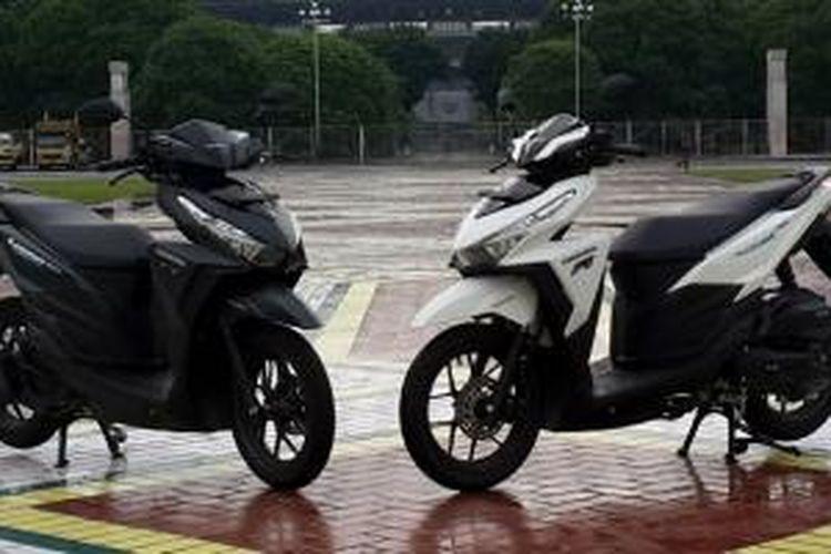 Honda All-New Vario 150 eSP, mengusung desain yang lebih berkarakter.