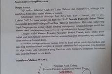 Polisi Panggil Perwakilan Pemuda Pancasila yang Keluarkan Surat Permintaan THR di Bekasi