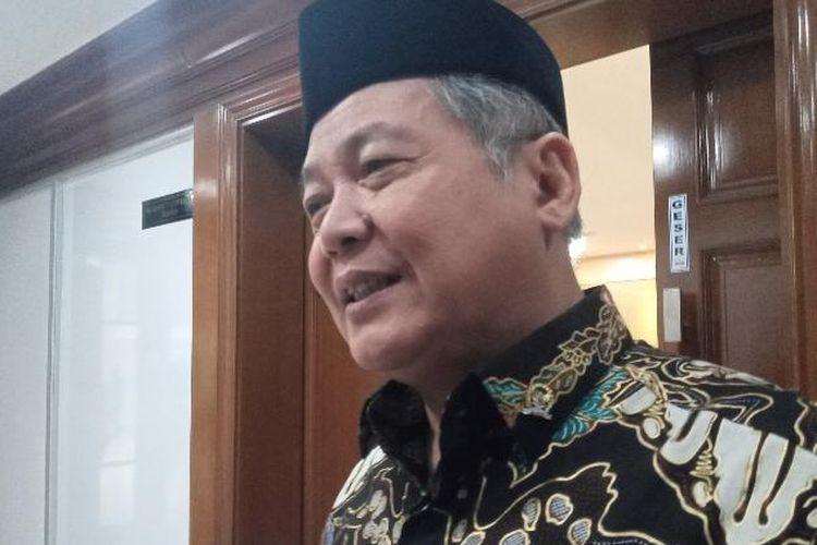 Anggota Komisi XI DPR Hendrawan Supraktikno di Gedung DPR pasca rapat dengan Dirut BTN terkait dugaan manipulasi laporan keuangan, Senin (3/2/2020).