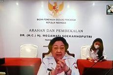 Megawati Minta Anggota PPI dan Paskibraka Jadi Benteng Pertahanan Pancasila