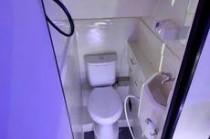 Manfaatkan Toilet di Bus untuk Cuci Tangan