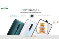 Pre-order OPPO Reno2 F Eksklusif di Shopee, Simak Harga dan Spesifikasinya
