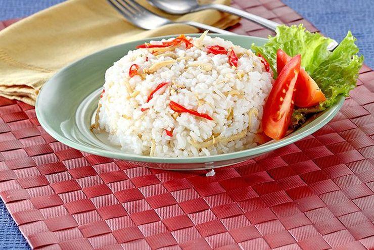 Resep Nasi Liwet Teri Simpel, Bikin Pakai Rice Cooker