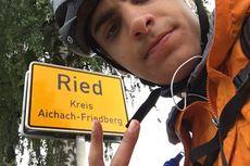 Mahasiswa Ini Nekat Gowes 3.500 km Selama 48 Hari untuk Pulang Kampung