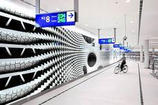 Unik! Garasi Sepeda di Belanda Terlihat Seperti Bandara Kekinian