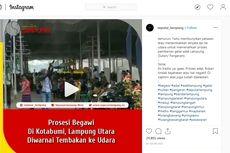 Fakta Video Viral 3 Polisi Tembakan Senpi di Acara Adat Lampung, Tak Ada Petasan hingga Diperiksa Propam