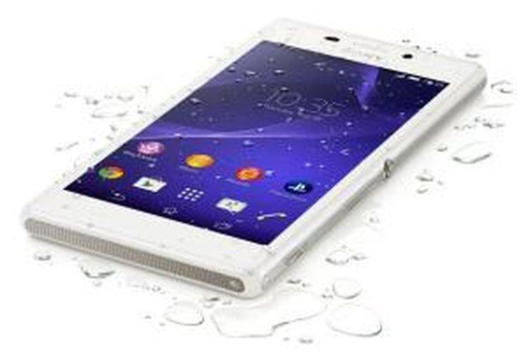 Sony Xperia M2 Aqua.
